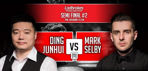 Дин Джуньху против Марка Селби