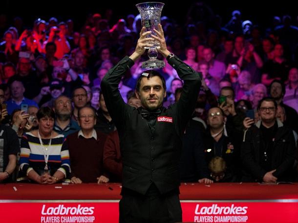 Ронни О'Салливан - победитель Players Championship 2018