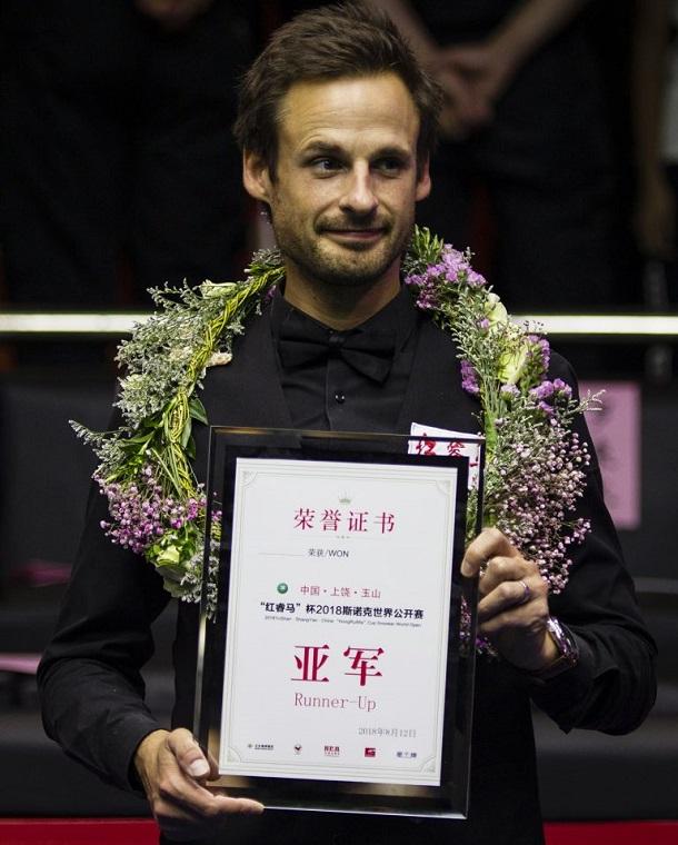 Дэвид Гилберт - финалист World Open 2018