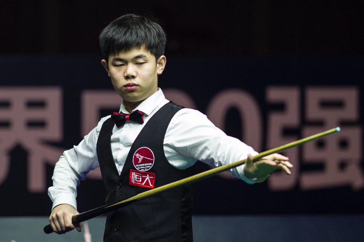 Yuan Sijun (фото: WorldSnooker)
