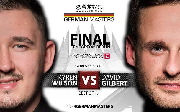 Кайрен Уилсон иДэвид Гилберт встретятся в финале German Masters