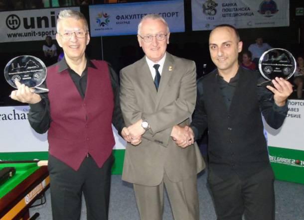Тони Драго и Дункан Беззин на Чемпионате Европы