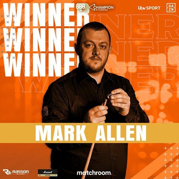 Марк Аллен (фото: World Snooker)