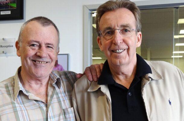 Дуг Маунтджой и Терри Гриффитс (фото: World Snooker)